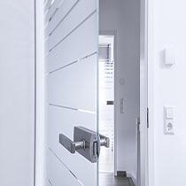 Стеклянные двери 1